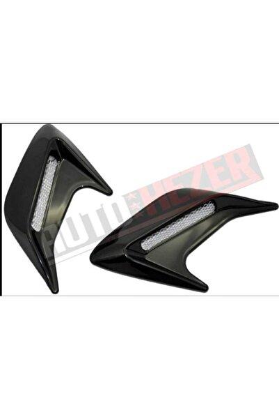 AutoFresh Volkswagen Polo Çamurluk Ve Kaput Venti Siyah-2 Adet