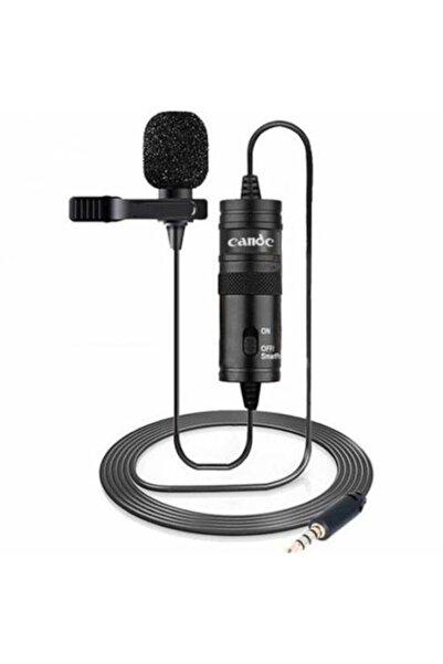 Canderel Sn-100m Siyah Akıllı Telefon Ve Youtuber Yaka Mikrofonu St04045