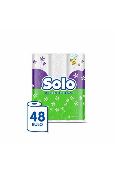 Solo Kağıt Havlu 48 Rulo (12x4 Rulo)