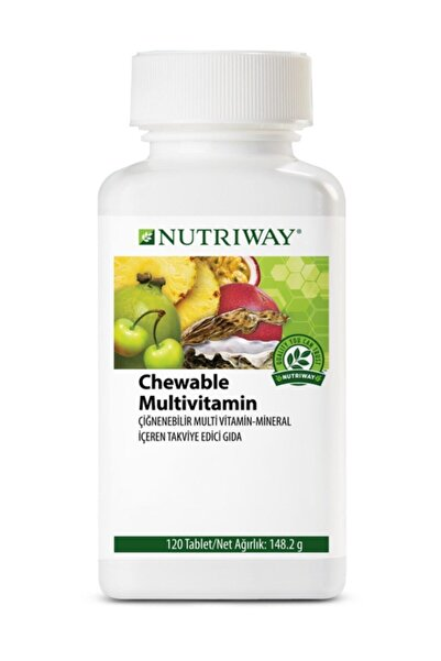 Amway Chewable Multivitamin Nutrıway™-120 Tablet
