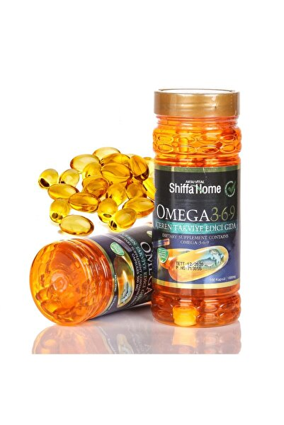 Shiffa Home Omega 3-6-9 Balık Yağı Hapı Aksu Vital