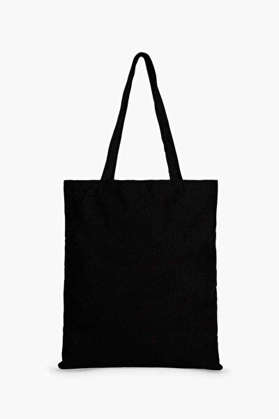 DMR Siyah Bez Çanta
