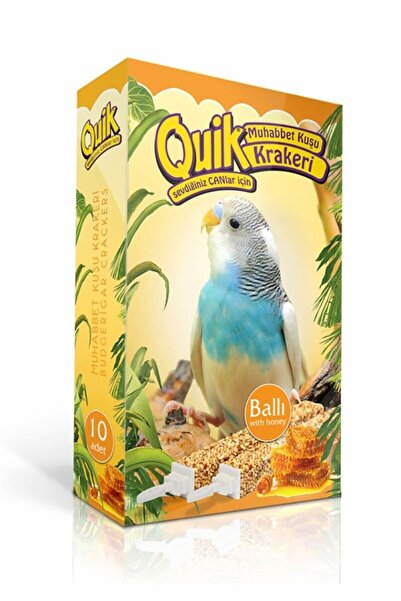 Quik Muhabbet Kuşu Krakeri 10'lu