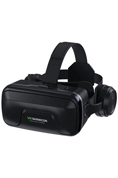 Kakusan Sanal Gerçeklik Gözlüğü Kulaklıklı 3d Vr Filmler Video Oyunları Tüm Telefonlara Uyumlu