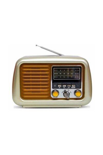 TG Taşınabilir Bluetooth Nostalji Hoparlör Yüksek Ses Extra Bass Radyo