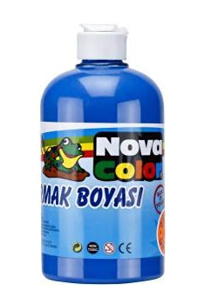 Nova Color Parmak Boyası 500 gr. Mavi
