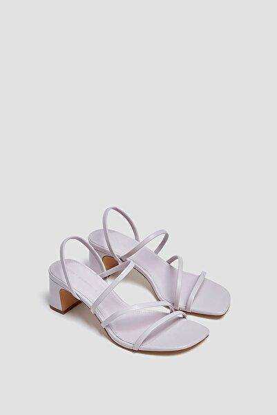 Pull & Bear Ince Bantlı Topuklu Sandalet
