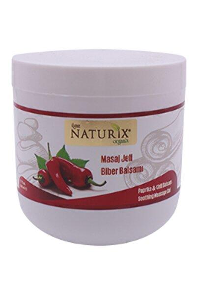 Naturix Biber Balsamı Selülit Giderici Vücut Sıkılaştırıcı Ve Toparlayıcı 500 ml Kırmızı Paprika Masaj Jeli