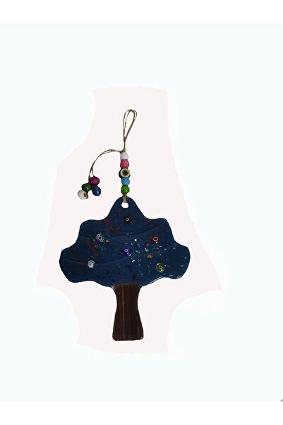 HediyeBuldun Lacivert Renkli Ağaç Nazarlık