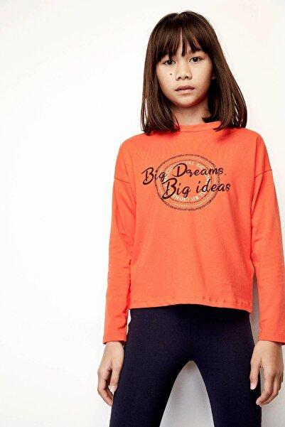 Riccione Kız Çocuk Nar Çiçeği T-shirt