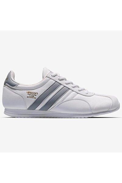 Lescon Campus Beyaz Bayan Sneaker Spor Ayakkabı