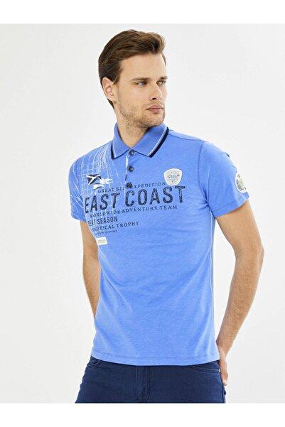 MCL Polo Yaka %100 Pamuk Baskılı Tişört