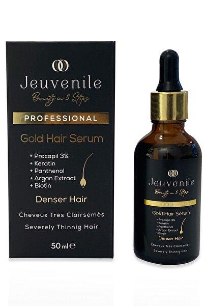 Jeuvenile Dökülme Karşıtı Besleyici & Yoğunlaştırıcı Altın Saç Serumu 50 ml Gold Hair Serum