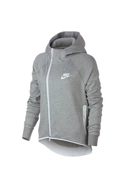 Nike Kadın Gri Spor Ceket