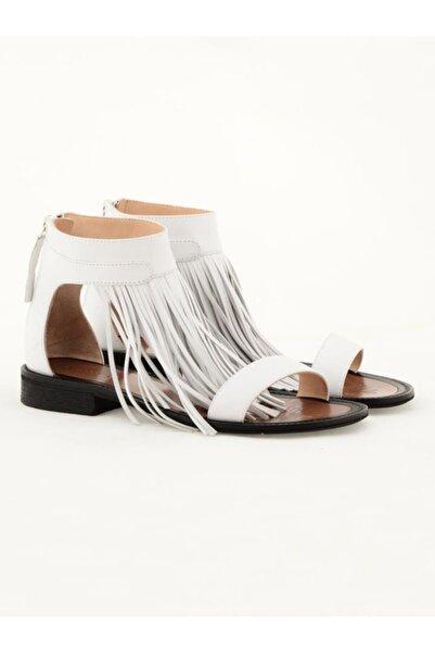 Nursace Hakiki Deri Sandalet Nsc19y-a08284