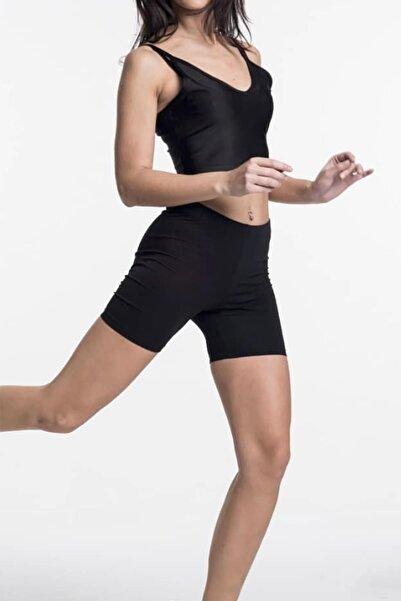 LETOON Kadın Active Şort - M13 Siyah