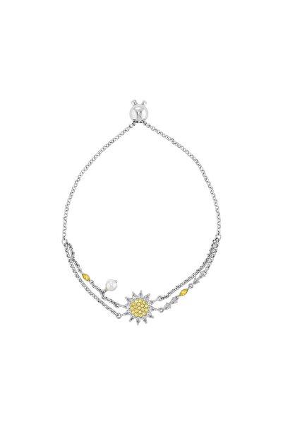 Swarovski Bileklik Botanical-bracelet Czoy-rhs M 5535866