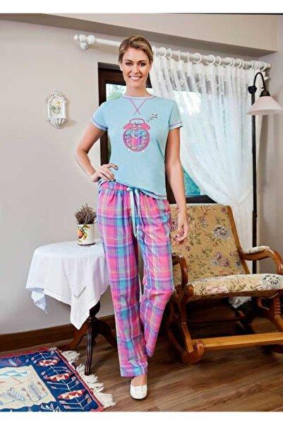 Berrak Kadın Mint Pijama Takımı
