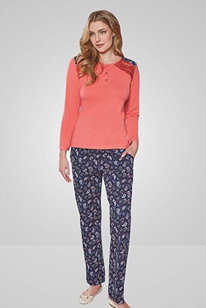Berrak Kadın Mercan Pijama Takımı