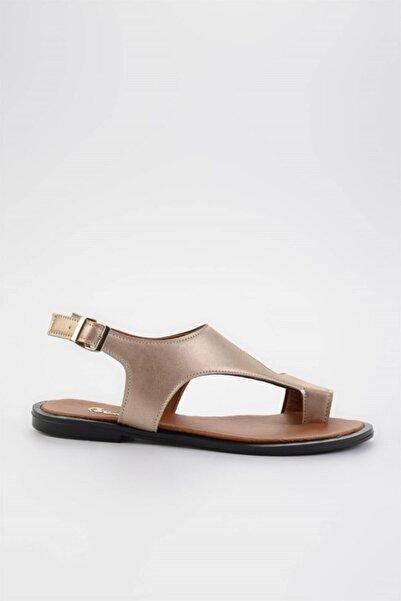 Bambi Lıght Altın Kadın Sandalet L0835121009