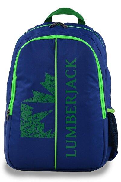 lumberjack 8504 Sırt Çantası Lacivert-yeşil