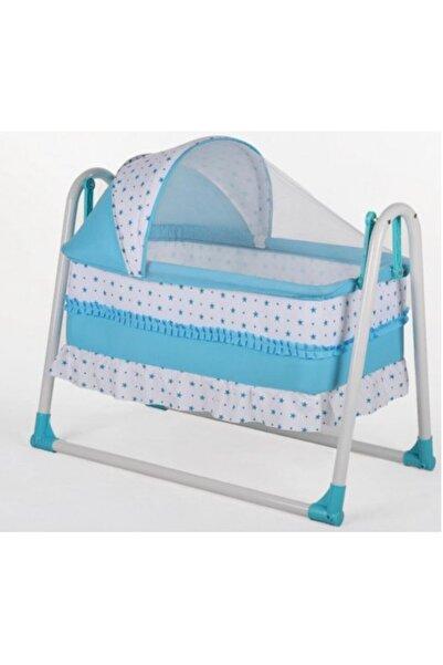 Bebe Mihemababy Mavi Tenteli Sallanır K Beşikleri