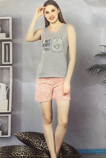 Marilyn Pijama Marilynmod Kadın Şortlu Pijama Takımı