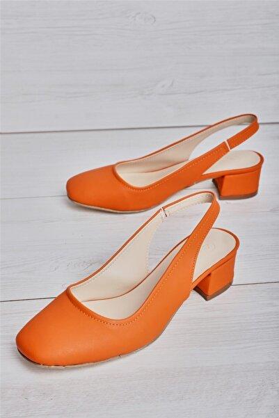 Bambi Turuncu Kadın Ayakkabı