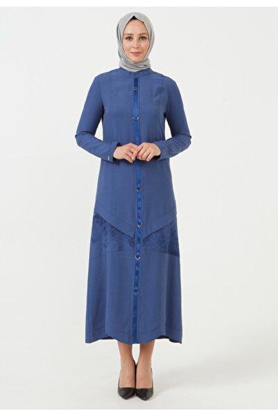 Setrms Baskı Şerit Detaylı Elbise