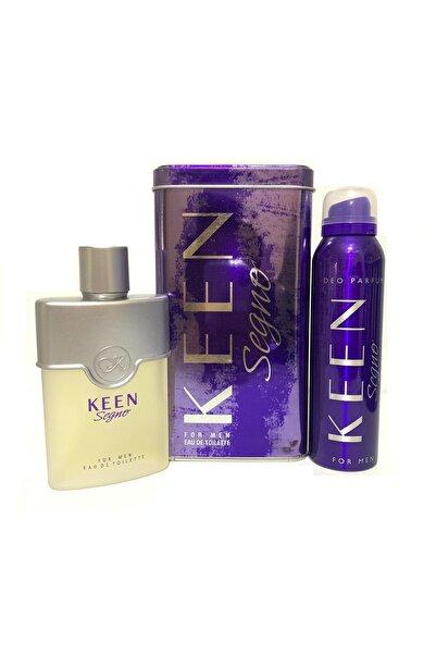 Keen Segno 100ml Edt Erkek Parfüm + Deodorant Parfüm Seti