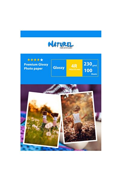 NATUREL Advanced Fotoğraf Kağıdı 10x15 100 Adet