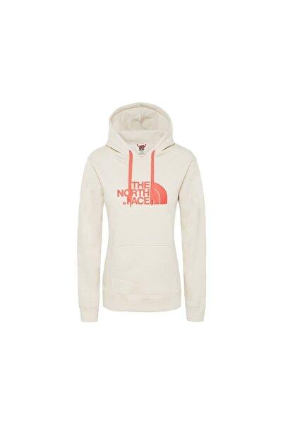 THE NORTH FACE Beyaz Kadın Outdoor Sweatshirts T0a8mumtg W Drew Peak Pullover Hoodie