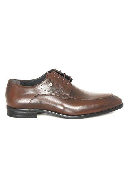 Fosco 1137 Kahve Deri Klasik Ayakkabı