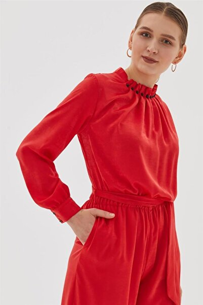 Kayra Elbise-kırmızı Ka-b20-22005-19