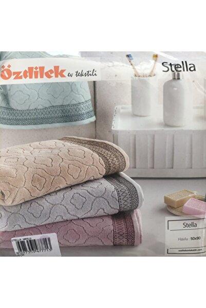 Özdilek Stella 4 Adet El Yüz Havlusu 50x90 Kadife