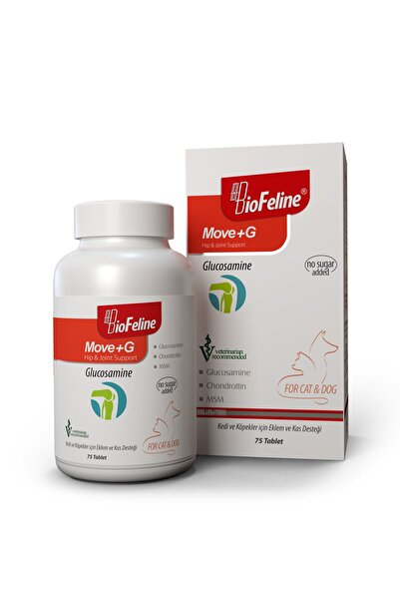 BioFeline Move+g Glucosamine Tablet ( Kedi Ve Köpekler Için Eklem Ve Kas Desteği )