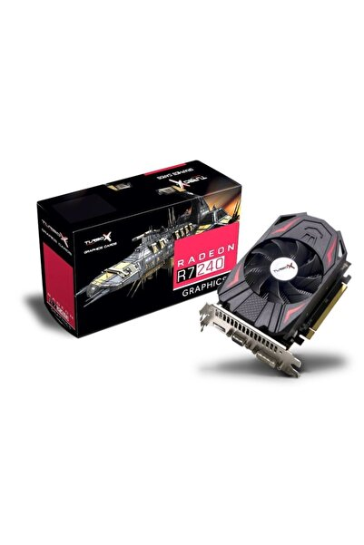 NGN TRADE Turbox Amd Radeon R7 240 2 Gb 128 Bit Gddr5 Hdmı Dvı Dx12 Ekran Kart