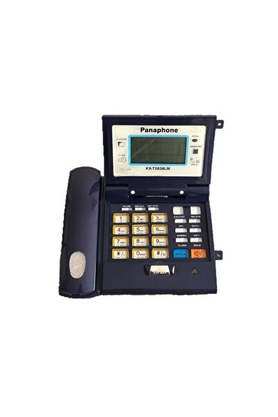 PANAPOLE Panaphone Kx-t2838lm Kapaklı Kablolu Ev Telefonu - Caller Id Sabit Telefon