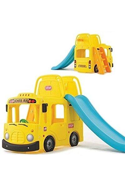 Muhcu Toys Çocuk Kaydıraklı Sevimli Otobüs
