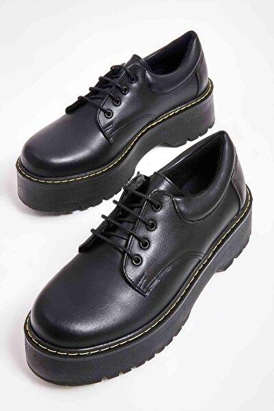 Bambi Siyah Kadın Casual Ayakkabı M08360001