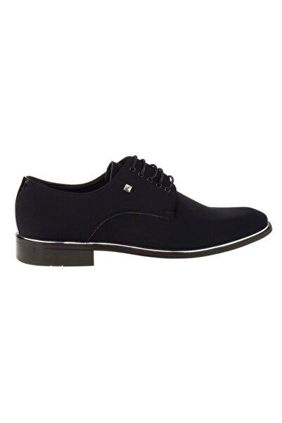Fosco 8003 Siyah Saten Klasik Ayakkabı
