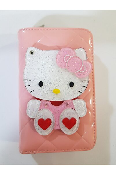Hello Kitty Hello Kity Aynali Cüzdan