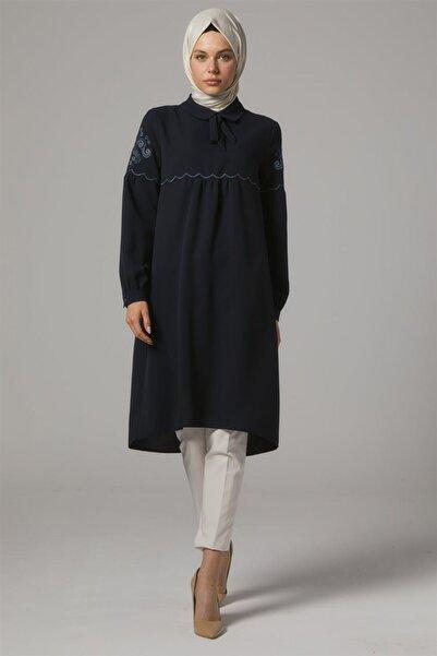 Doque Tunik-lacivert Do-a9-61093-11