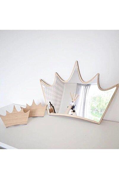 Sese Concept Çocuk Odası Kıng Aynalı Pleksi Duvar Dekor
