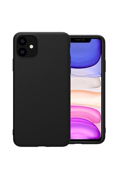 Otto Di Aksesuar Iphone 11 Siyah Yumuşak Silikon Kılıf Yerli Üretim