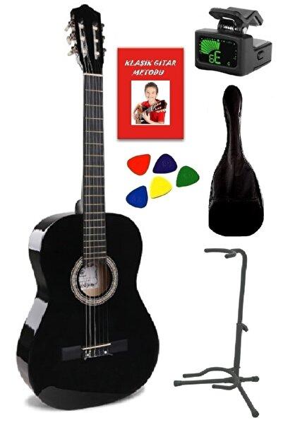müzikhane 4/4 Tamboy Klasik Gitar ,kılıf,metot,stant,akort Cihazı,pena-bk-