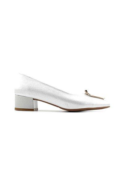 PUNTO 544811 Kadın Topuklu Ayakkabı-sedef