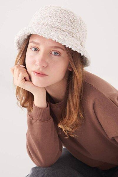 Addax Kadın Bej Bucket Şapka Şpk1031 - F2 ADX-0000022934