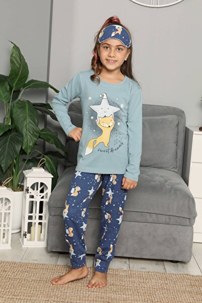 Mossta Uzun Kol Çocuk Pijama Takımı