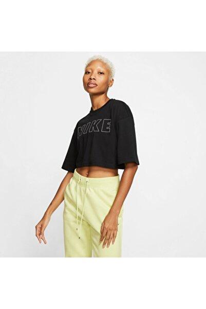Nike Sportswear Air Kadın Siyah T-shirt Cj3059-010